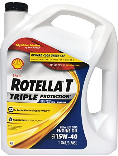 shell rotella diesel and gasoline motor oil gallon 15 40w amical auto parts. Black Bedroom Furniture Sets. Home Design Ideas